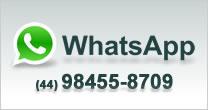 Confira aqui o nosso númerro do WhatsApp